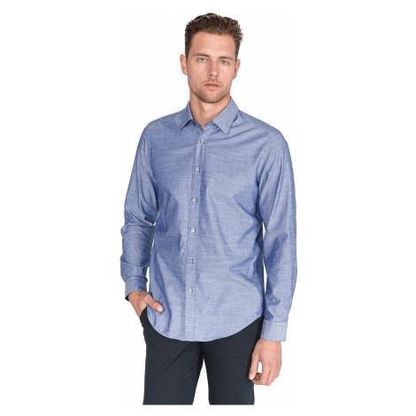 BOSS Lukas_53 Shirt Blue Hugo Boss