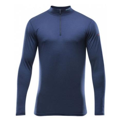Devold BREEZE MAN HALF ZIP NECK blue - Men's functional T-shirt