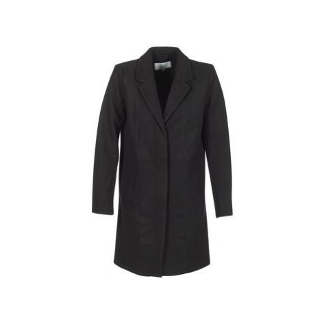 Vila VICAMDON women's Coat in Black