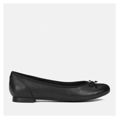 Clarks Women's Couture Leather Ballet Flats - Black - UK