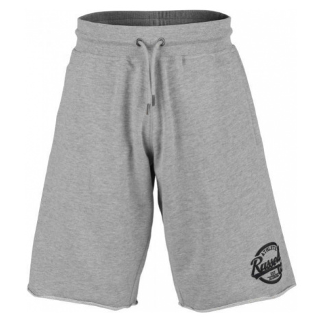 Russell Athletic COLLEGIATE RAW EDGE SHORTS grey - Men's shorts