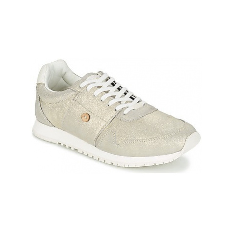 Faguo OLIVE women's Shoes (Trainers) in Silver