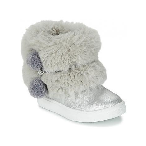 Primigi BABY STARS girls's Children's Mid Boots in Silver