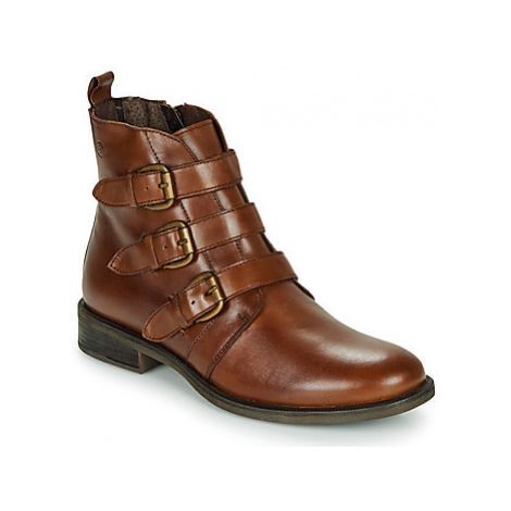 Betty London LENA women's Mid Boots in Brown