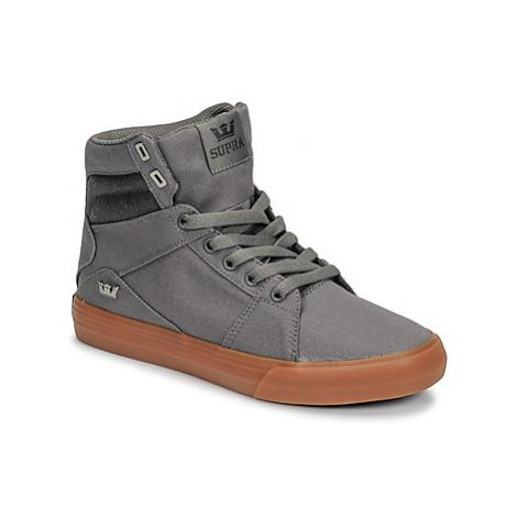 Supra ALUMINIUM women's Shoes (High-top Trainers) in Grey