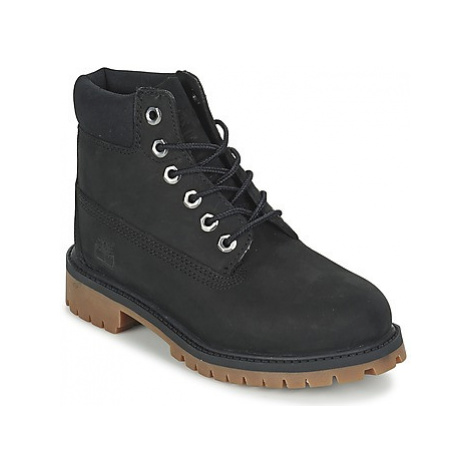 Timberland 6 IN PREMIUM WP BOOT girls's Children's Mid Boots in Black