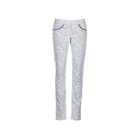 Beige women's casual trousers