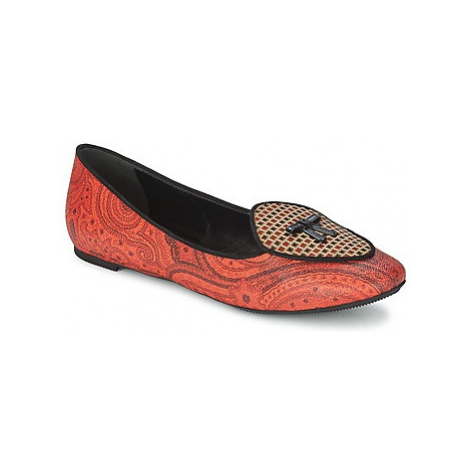 Etro 3058 women's Shoes (Pumps / Ballerinas) in Orange