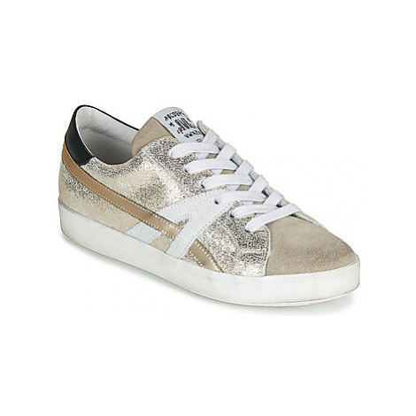 Meline MEL women's Shoes (Trainers) in Gold