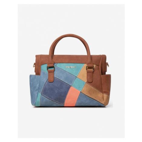 Desigual Centauri Loverty Handbag Brown Colorful