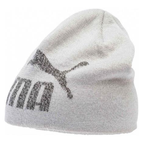 Puma ESS LOGO BEANIE white - Kids' knitted beanie