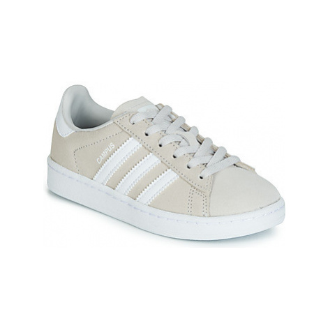Adidas CAMPUS C girls's Children's Shoes (Trainers) in Grey