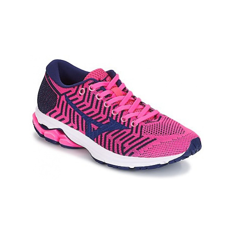 Mizuno WAVEKNIT R2 women's Running Trainers in Pink