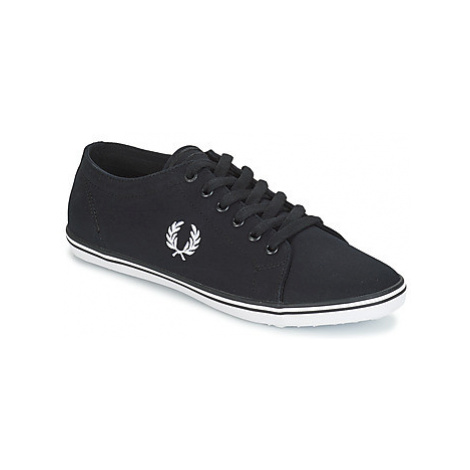 Fred Perry KINGSTON TWILL men's Shoes (Trainers) in Black