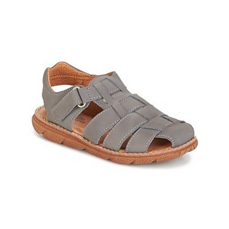 Citrouille et Compagnie PRALIN boys's Children's Sandals in Grey