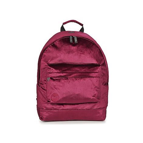 Mi Pac PREMIUM VELVET women's Backpack in Bordeaux