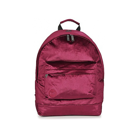 Mi Pac PREMIUM VELVET women's Backpack in Bordeaux