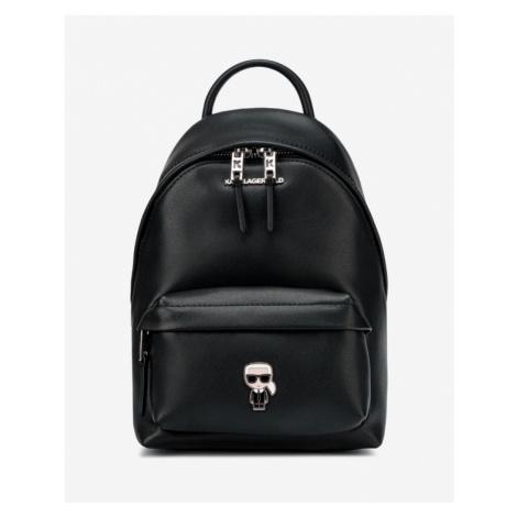 Karl Lagerfeld Ikonik Metal Backpack Black