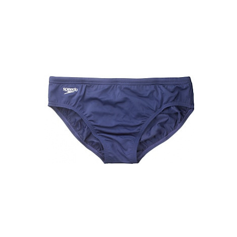 Speedo Boys' Endurance Swim Briefs, Navy