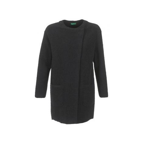 Benetton FROU women's Coat in Black United Colors of Benetton