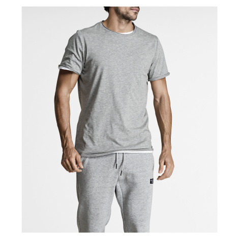 CENTRE RELAXED TEE H108BY LIGHT GREY MELANGE Bjorn Borg