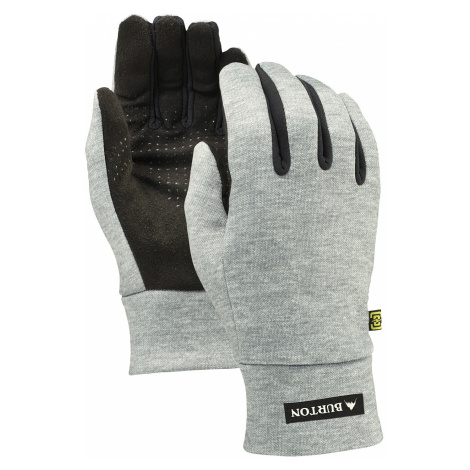 glove Burton Touch N Go Liner - Heathered Gray - men´s