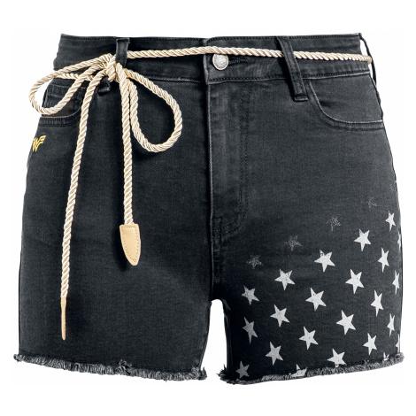 Wonder Woman - 1984 - Stars - Girls shorts - black