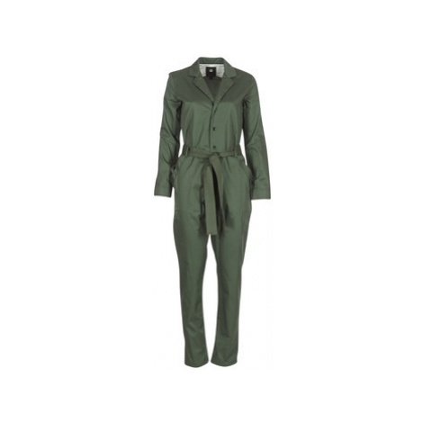 G-Star Raw DELINE JUMPSUIT WMN L/S women's Jumpsuit in Green