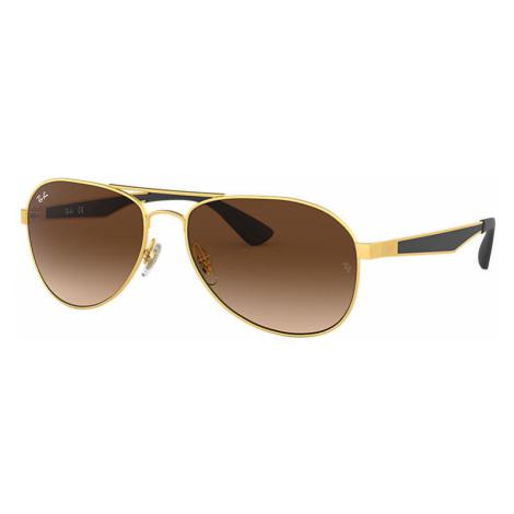 Ray-Ban Rb3549 Man Sunglasses Lenses: Brown, Frame: Black - RB3549 112/13 58-16