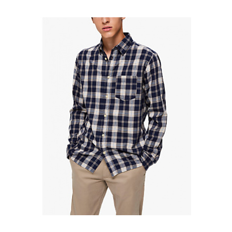SELECTED HOMME Matthew Regular Fit Check Organic Cotton Shirt