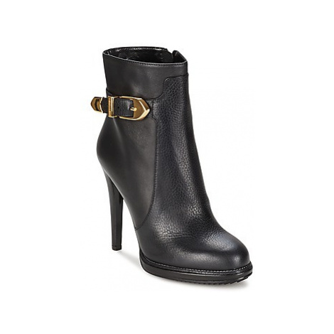 Moschino Cheap CHIC BUCKLE women's Low Ankle Boots in Black