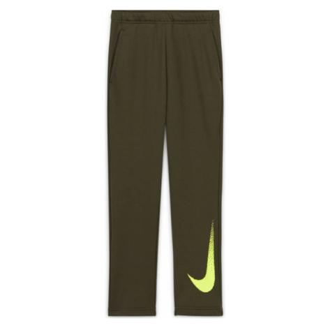Nike DRY FLC PANT GFX2 B green - Boys' pants