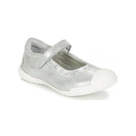 Mod'8 PRISCA girls's Children's Shoes (Pumps / Ballerinas) in Silver
