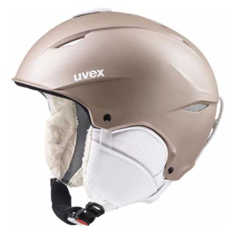 Uvex PRIMO beige - Women's ski helmet
