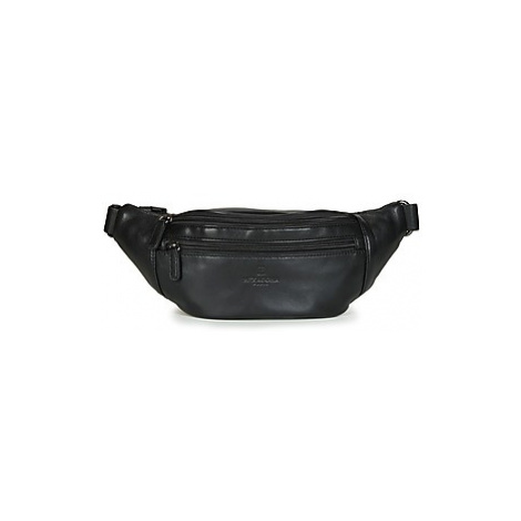 Hexagona SOFT men's Hip bag in Black