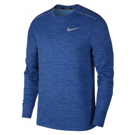 Nike PACER TOP CREW blue - Men's running T-shirt