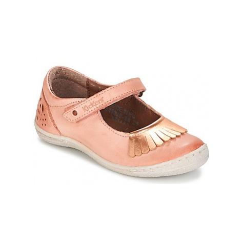 Kickers CALYPSO girls's Children's Shoes (Pumps / Ballerinas) in Orange