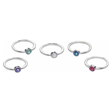 Blackheart - Opal Set - Ring - multicolour
