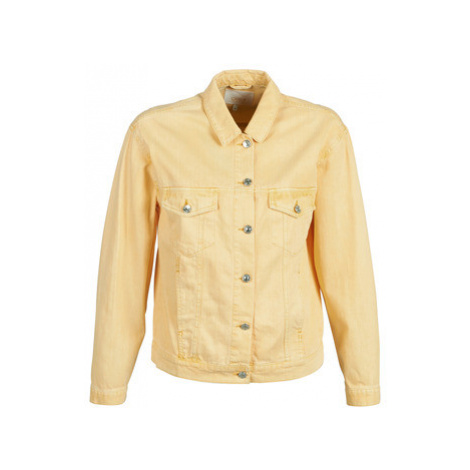 Only ONLLEXI women's Denim jacket in Yellow