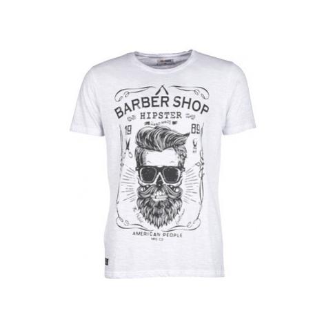 Yurban SARBER men's T shirt in Beige