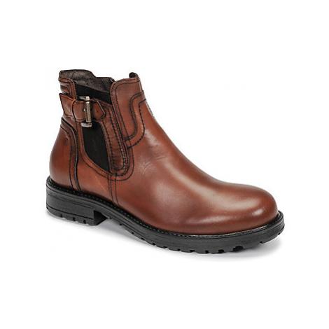 Casual Attitude LANCELOT men's Mid Boots in Brown