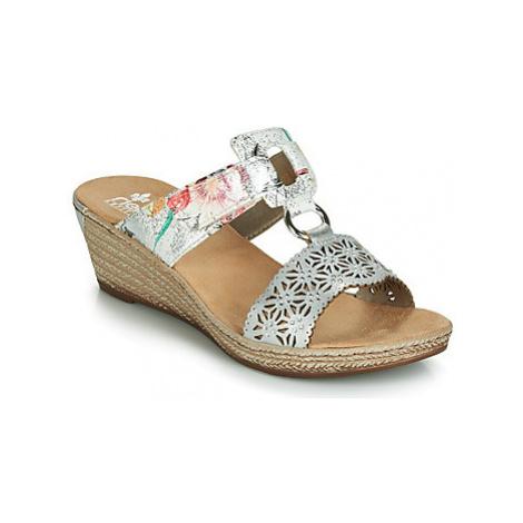 Rieker JOELIO women's Mules / Casual Shoes in Beige