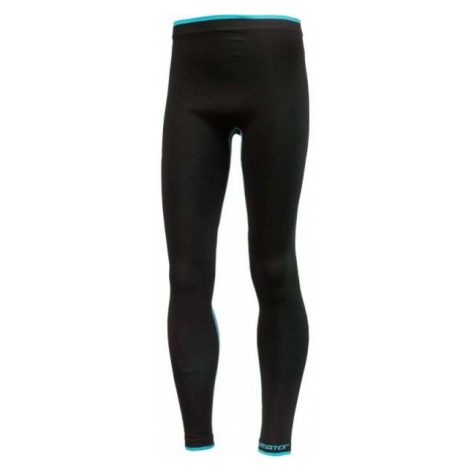 Klimatex FLOKI black - Functional boys' thermal leggings