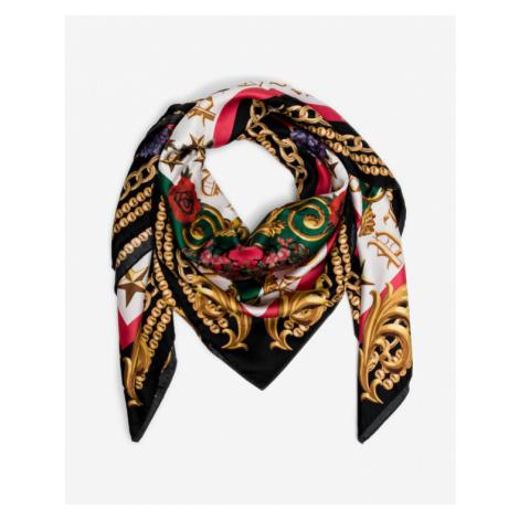 Philipp Plein Black Baroque Šátek Colorful