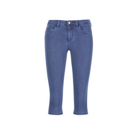 Only RAIN KNICKERS women's Cropped trousers in Blue