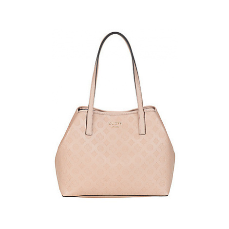 Guess VIKKY women's Shopper bag in Beige