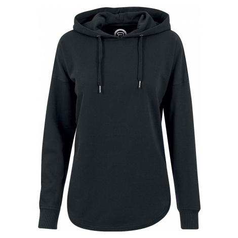 RED by EMP - Oversized Terry Hoodie - Girls hooded sweatshirt - black