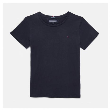 Tommy Hilfiger Girls' Basic Short Sleeve T-Shirt - Sky Captain