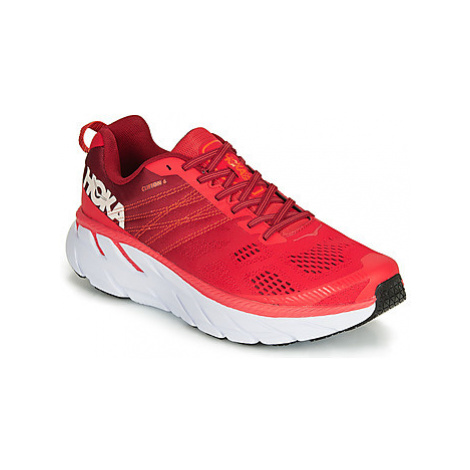 Hoka one one CLIFTON 6 men's Running Trainers in Red