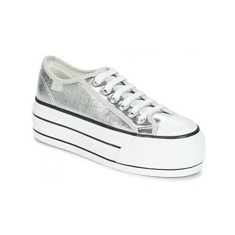 Coolway GREASE women's Shoes (Trainers) in Silver